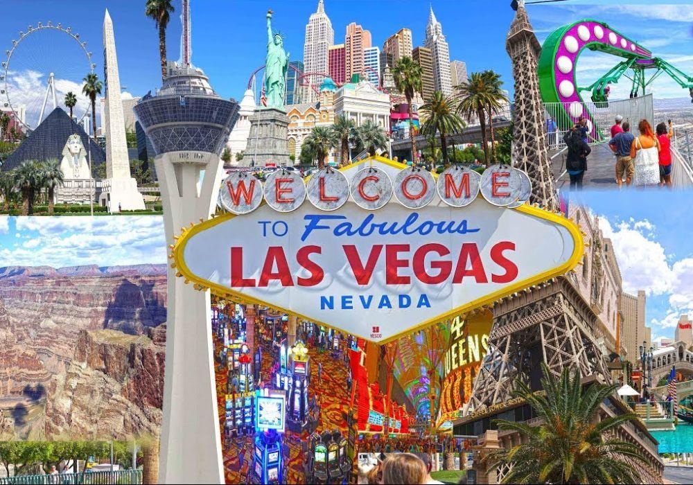 Перелет в Лас-Вегас.